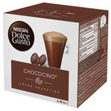 Капсулы для кофемашин NESCAFE Dolce Gusto Chococino, капсулы какао 8 шт. х 16 г, молочная капсула 8 шт. х 17,8 г, 5219918