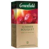 """Чай GREENFIELD (Гринфилд) """"Summer Bouquet"""", фруктовый (малина, шиповник), 25 пакетиков в конвертах по 1,5 г, 0433"""
