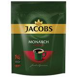 """Кофе растворимый JACOBS """"Monarch Intense"""", сублимированный, 150 г, мягкая упаковка, 8051499"""