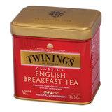 """Чай TWININGS (Твайнингс) """"English Breakfast"""", черный, железная банка, 100 г, F09010"""