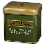 "Чай TWININGS (Твайнингс) ""Green tea Gunpowder"", зеленый, железная банка, 100 г, F09013"