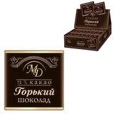 Шоколад порционный МОНЕТНЫЙ ДВОР, горький шоколад 72%, 200 плиток по 5 г, в шоубоксах (упаковка 1 кг), 0091