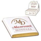 Шоколад порционный МОНЕТНЫЙ ДВОР, молочный шоколад 42%, 200 плиток по 5 г, в шоубоксах (упаковка 1 кг), 0093