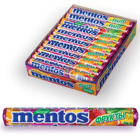 Жевательное драже MENTOS (Ментос)
