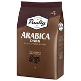 """Кофе в зернах PAULIG (Паулиг) """"Arabica DARK"""", натуральный, 1000 г, вакуумная упаковка, 16608"""