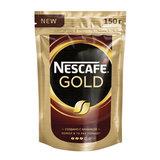 """Кофе молотый в растворимом NESCAFE (Нескафе) """"Gold"""", 150 г, мягкая упаковка, 12326223"""
