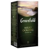 "Чай GREENFIELD (Гринфилд) ""Milky Oolong"" (""Молочный улун""), улун с добавками, 25 пакетиков по 2 г, 1067-15"