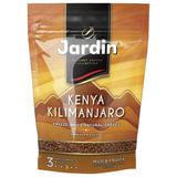 """Кофе растворимый JARDIN """"Kenya Kilimanjaro"""" (""""Кения Килиманджаро""""), сублимированный, 150 г, мягкая упаковка, 1018-14"""