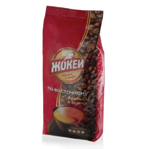 """Кофе в зернах ЖОКЕЙ """"По-восточному"""", 500 г, вакуумная упаковка, 0616-12"""