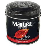 """Чай MAITRE (Мэтр) """"Горный диань"""", черный, листовой, жестяная банка, 100 г, бар110р"""