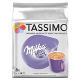 """Какао в капсулах JACOBS """"Milka"""" для кофемашин Tassimo, 8 порций (16 капсул), 8052280"""