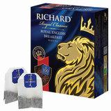"""Чай RICHARD (Ричард) """"Royal English Breakfast"""", черный, 100 пакетиков по 2 г, 100270"""