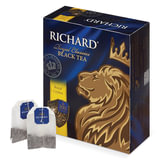 "Чай RICHARD (Ричард) ""Royal Ceylon"" (""Роял Цейлон""), черный, 100 пакетиков по 2 г, 610601, 610606"