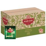 Чай МАЙСКИЙ зеленый, 200 пакетиков в конвертах по 2 г, 110404