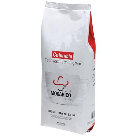 """Кофе в зернах MOKARICO """"Columbia"""", натуральный, арабика 80% робуста 20%, 1000 г, вакуумная упаковка, 1109"""