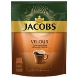 """Кофе растворимый JACOBS """"Velour"""", сублимированный, 140 г, мягкая упаковка, 8051495"""