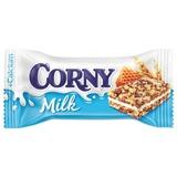 """Батончик-мюсли CORNY """"Milk"""" (Корни Милк), злаковый c молочным наполнителем и медом, 30 г, бзк009"""