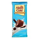 Шоколад ALPEN GOLD молочный, 90 г, 40844