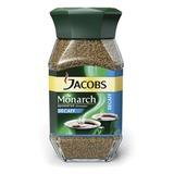 Кофе растворимый JACOBS MONARCH сублимированный без кофеина, 95 г, в стеклянной банке, 12575