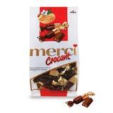 """Конфеты шоколадные MERCI (Мерси) """"Crocant"""", крокант в шоколаде, 125 г, пакет, 049343-60"""