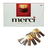 Конфеты шоколадные MERCI (Мерси), ассорти, 400 г, картонная коробка, 014419-95/61
