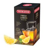 "Чай TEEKANNE (Тикане) ""Fresh Lemon"", черный, лимон, 25 пакетиков по 2 г, Германия"