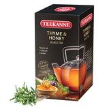 """Чай TEEKANNE (Тикане) """"Thyme & Honey"""", черный, чабрец/мёд, 25 пакетиков, Германия"""