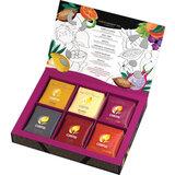 """Чай CURTIS (Кёртис) """"Dessert Tea Collection"""", набор 30 пакетиков, ассорти (6 вкусов по 5 пакетиков), 58,5 г, 100933"""