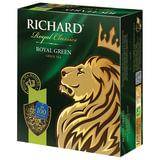 """Чай RICHARD (Ричард) """"Royal Green"""", зеленый, 100 пакетиков по 2 г, 610150"""