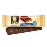 """Шоколад КРАСНЫЙ ОКТЯБРЬ """"Аленка"""", молочный с начинкой вареная сгущенка, 48 г, КО09885"""
