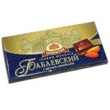 Шоколад БАБАЕВСКИЙ темный с миндалем, 100 г, ББ07702