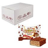 """Конфеты шоколадные РОТ ФРОНТ """"Коровка"""", вафельные с шоколадной начинкой, весовые, 2 кг, гофрокороб, РФ17636"""