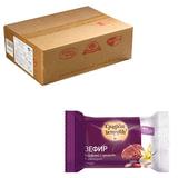 Зефир СЛАДКИЕ ИСТОРИИ ванильный в шоколадной глазури с орехами, весовой, 2 кг, гофрокороб, РФ19095