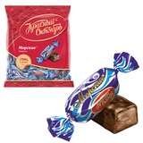 """Конфеты шоколадные КРАСНЫЙ ОКТЯБРЬ """"Морские"""", молочная помадка с какао, 250 г, пакет, ББ04740"""