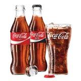 Напиток газированный COCA-COLA (Кока-кола), 0,25 л, стеклянная бутылка, 428914