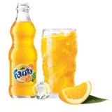 Напиток газированный FANTA (Фанта), 0,25 л, стеклянная бутылка, 436904