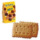"""Печенье BAHLSEN Leibniz (БАЛЬЗЕН Лейбниц) """"Minis Choko"""", сливочное с шоколадом, 100 г, Германия, 7628"""