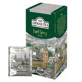 """Чай AHMAD (Ахмад) """"Earl Grey"""", черный, с бергамотом, 25 пакетиков с ярлычками по 2 г, 969-1"""