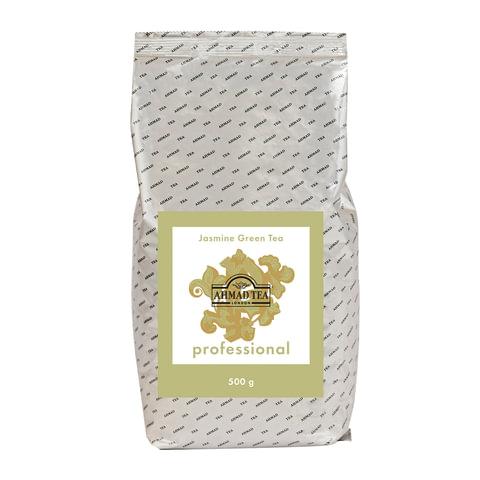 """Чай AHMAD (Ахмад) """"Jasmine Green Tea"""" Professional, зеленый с жасмином, листовой, пакет, 500 г, 1595"""