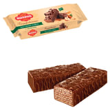 """Вафли ЯШКИНО """"Глазированные с орешками"""", с какао, фундуком и арахисом, 200 г, ЯВ218"""