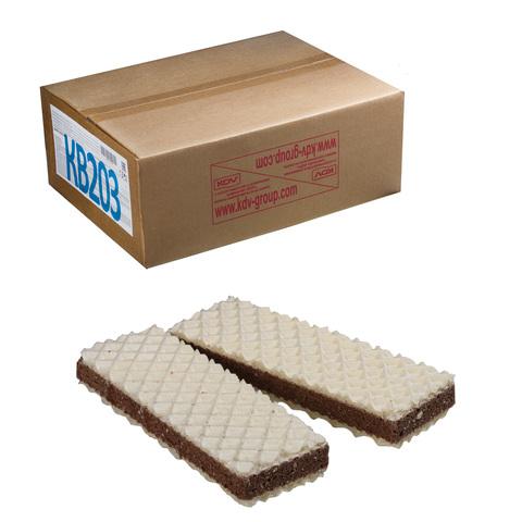 """Вафли ЯШКИНО """"Шоколайт"""", с прослойкой из шоколадной глазури, весовые, гофрокороб, 3,8 кг, КВ203"""