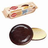 """Печенье ЯШКИНО """"Апельсин"""", сдобное, с бисквитом, джемом и шоколадной глазурью, 137 г, ЯП206"""