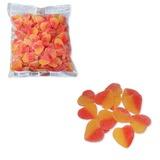 """Мармелад жевательный ЯШКИНО """"Сердечки"""" со вкусом манго, пакет, 1 кг, ПМ104"""