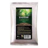 """Чай GREENFIELD (Гринфилд) """"Garden Mint"""", зеленый с мятой, листовой, 250 г, пакет, 1143-15"""