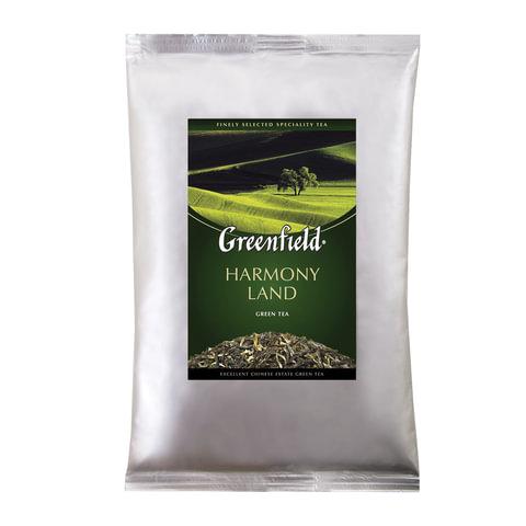 """Чай GREENFIELD (Гринфилд) """"Harmony Land"""", зеленый, листовой, 250 г, пакет, 0978-15"""