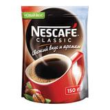 """Кофе растворимый NESCAFE (Нескафе) """"Classic"""", гранулированный, 150 г, мягкая упаковка, 12267717"""