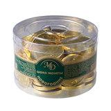 Шоколадные монеты МОНЕТНЫЙ ДВОР, 300 г (50 шт. по 6 г), пластиковая банка, 0024