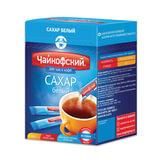 """Сахар в стиках """"Чайкофский"""", 5 г, белый, порционный, 60 пакетиков, 0,3 кг, картонная упаковка"""