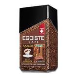 """Кофе молотый в растворимом EGOISTE """"Special"""", натуральный, 100 г, 100% арабика, стеклянная банка, 8606"""