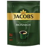 """Кофе растворимый JACOBS """"Monarch"""", сублимированный, 240 г, мягкая упаковка, 8051277"""